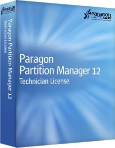 Paragon Partition Manager 12 Premium Technician License